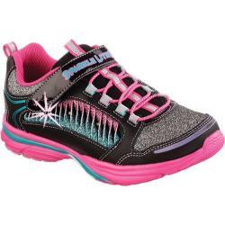 Girls' Skechers Sparkle Lites Lite Kick II Twisty Kicks Black/Multi