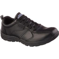 Men's Skechers Work Relaxed Fit Hobbes Frat SR Black