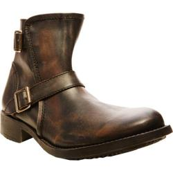 Men's Steve Madden Acksiz Black/Brown Leather