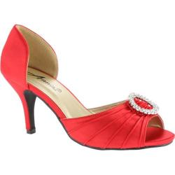 Women's Annie Librae Red Satin
