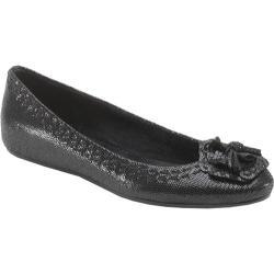 Women's Antia Shoes Abella Black Fine Lizard