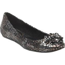 Women's Antia Shoes Abella Black Metallic Snake