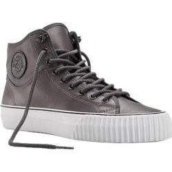Men's PF Flyers Center Hi Split Grey Leather/Nylon