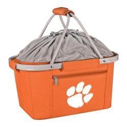 Picnic Time Metro Basket Clemson University Tigers Print Orange