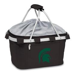 Picnic Time Metro Basket Michigan State Spartans Embroidered Black