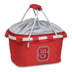 Picnic Time Metro Basket NC State University Wolfpack Emb Red