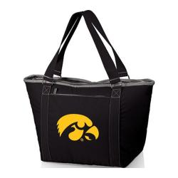 Picnic Time Topanga Iowa Hawkeyes Print Black