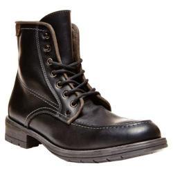 Men's Steve Madden Newburgh Black Leather
