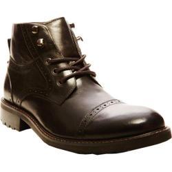 Men's Steve Madden Rebarr Black Leather