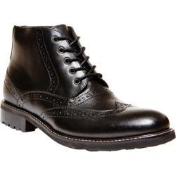Men's Steve Madden Restorr Black Leather