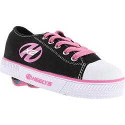 Girls' Heelys Pure Black/Pink