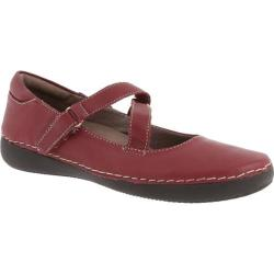 Women's Vionic with Orthaheel Technology Judith Flat Mary Jane Merlot