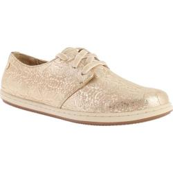 Women's Vionic with Orthaheel Technology Palermo Active Lace Up Gold Snake