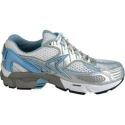 Women's Aetrex Edge Runners White/Light Blue