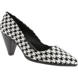 Women's Charles by Charles David Varsha Black/White Houndstooth Suede