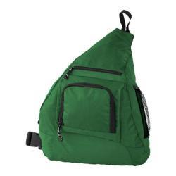 Mercury Luggage Dark Green Sling Backpack