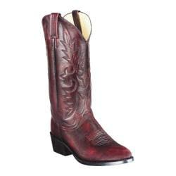 Dan Post Men's Boots Mignon R Toe Black Cherry