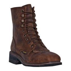 Men's Dan Post Boots Sander DP69581 Saddle Tan Crazy Horse