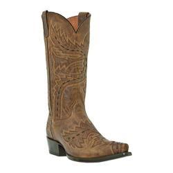 Men's Dan Post Boots Sidewinder DP2233 Tan Madcat Bucklace Leather
