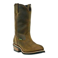 Men's Dan Post Boots 12in Waterproof Tan Distressed