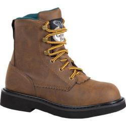 Children's Georgia Boot G097 Lacer Work Boot Brown