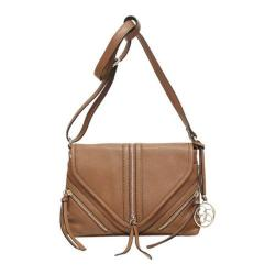 Women's Jessica Simpson Carly Flap Crossbody Whiskey