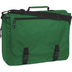 Mercury Luggage Book Bag Dark Green