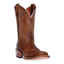 Men's Dan Post Boots Cowboy Certified Spritzer DP4128 Tan Crazy Horse Leather