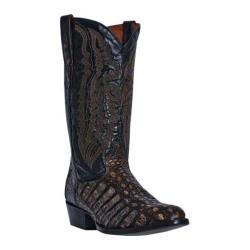 Men's Dan Post Boots Everglades DP2375 Brown Flank Caiman/Leather