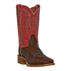 Men's Dan Post Boots Flagger DP2919 Caf�/Red Leather