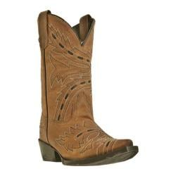 Girls' Dan Post Boots Sidewinder DPC2133 Tan Madcat Goat Leather