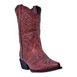 Girls' Dan Post Boots Sidewinder DPC2135 Red Leather