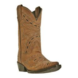 Girls' Dan Post Boots Sidewinder DPC3133 Tan Madcat Goat Leather