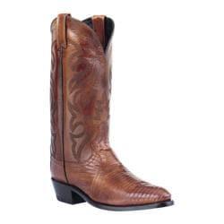 Men's Dan Post Boots Teju Lizard R Toe Antique Tan