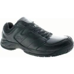 Men's Spring Step Energetic Black Leather