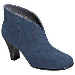 Women's A2 by Aerosoles Gold Role Dark Blue Fabric