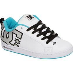 Women's DC Shoes Court Graffik SE White/M Silver