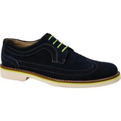 Men's Dockers Edeson Navy Suede/Lime Stitch