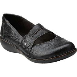 Women's Clarks Ashland Twist Black Leather