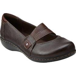 Women's Clarks Ashland Twist Brown Leather