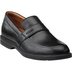 Men's Clarks Bilton Saddle Black Leather