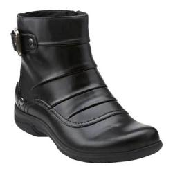 Women's Clarks Christine Club Black Leather