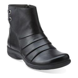 Women's Clarks Christine Tilt Black Leather