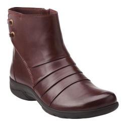 Women's Clarks Christine Tilt Burgundy Leather