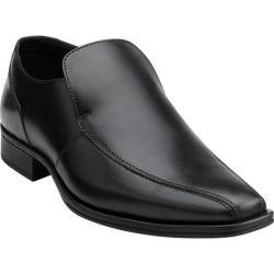 Men's Clarks Flenk Step Black Leather