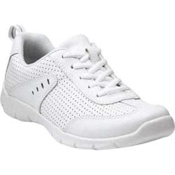 Women's Clarks Hedge Manor 2 White Leather