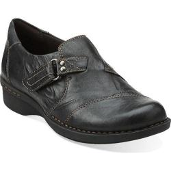 Women's Clarks Whistle Bamboo Black Leather