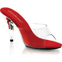Women's Fabulicious Caress 401FL Clear/Red