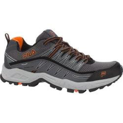 Men's Fila At Peake Castlerock/Black/Vibrant Orange