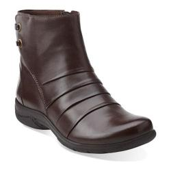 Women's Clarks Christine Tilt Brown Leather